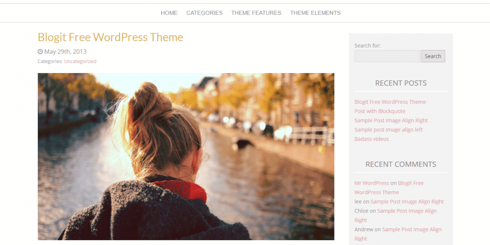 Blogit – A Free WordPress Theme now available