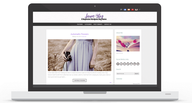 WordPress Theme Saxon Available